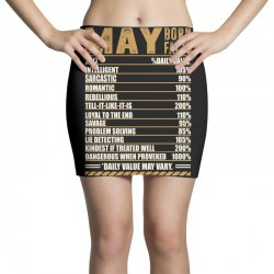 may born facts Mini Skirts | Artistshot