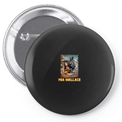 Mia Wallace Pin-back Button Designed By Hasret