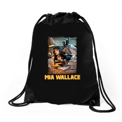 Mia Wallace Drawstring Bags Designed By Hasret