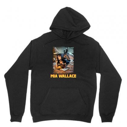 Mia Wallace Unisex Hoodie Designed By Hasret
