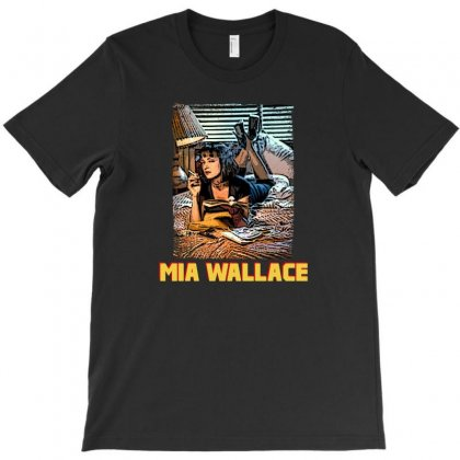 Mia Wallace T-shirt Designed By Hasret