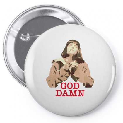 God Damn Mia Pin-back Button Designed By Hasret
