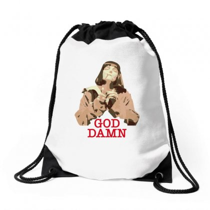 God Damn Mia Drawstring Bags Designed By Hasret