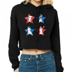 Uswnt 4 Stars Women Cropped Hoodie Designed By Ofutlu