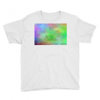 Render Cloud Multi Colors Youth Tee Designed By Kayanphoto