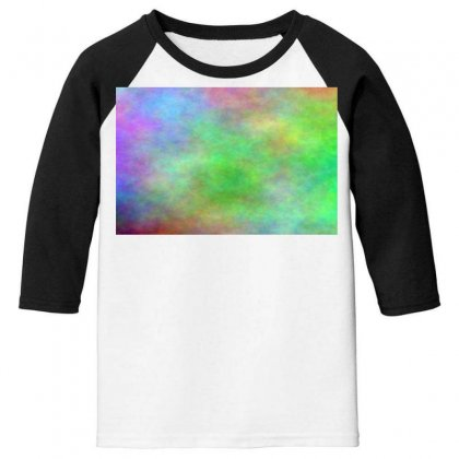 Render Cloud Multi Colors Youth 3/4 Sleeve Designed By Kayanphoto