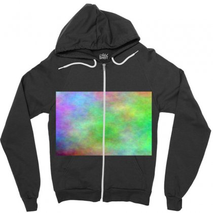 Render Cloud Multi Colors Zipper Hoodie Designed By Kayanphoto