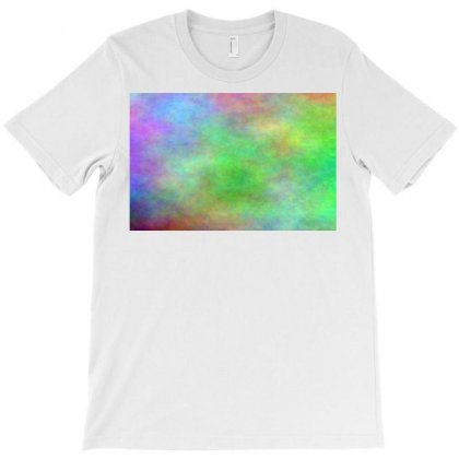 Render Cloud Multi Colors T-shirt Designed By Kayanphoto