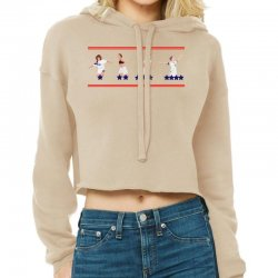 United States Women's National Team Championship's Stars Cropped Hoodie Designed By Ofutlu