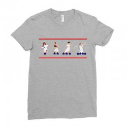 United States Women's National Team Championship's Stars Ladies Fitted T-shirt Designed By Ofutlu