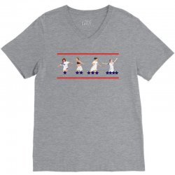 united states women's national team championship's stars V-Neck Tee | Artistshot
