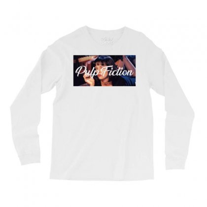 Pulp Fiction Long Sleeve Shirts Designed By Seda