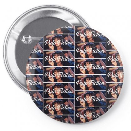 Pulp Fiction Pin-back Button Designed By Seda