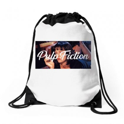 Pulp Fiction Drawstring Bags Designed By Seda