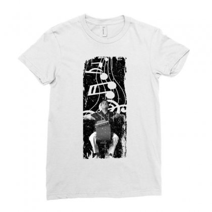 Celso Pino Note For Light Ladies Fitted T-shirt Designed By Seda