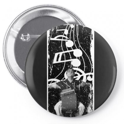 Celso Pino Note For Dark Pin-back Button Designed By Seda