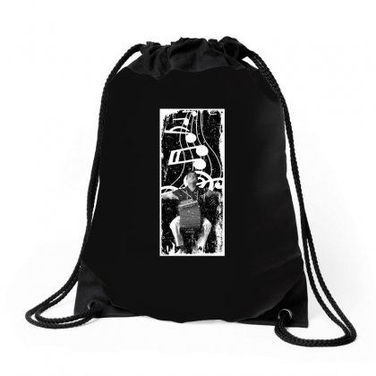 Celso Pino Note For Dark Drawstring Bags Designed By Seda