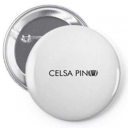 Celso Pina Accordion Typography For Light Pin-back Button Designed By Seda