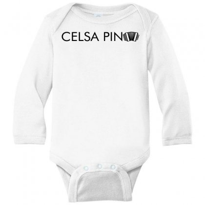 Celso Pina Accordion Typography For Light Long Sleeve Baby Bodysuit Designed By Seda