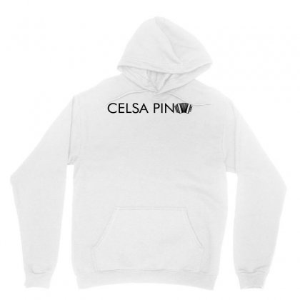 Celso Pina Accordion Typography For Light Unisex Hoodie Designed By Seda