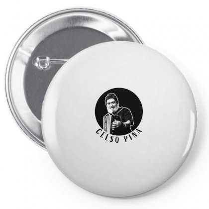 Celso Pina Accordion For Light Pin-back Button Designed By Seda