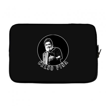 Celso Pina Accordion For Dark Laptop Sleeve Designed By Seda
