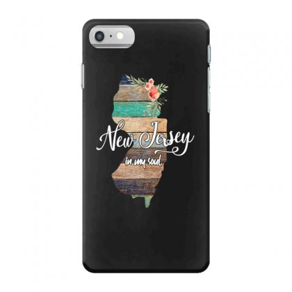 New Jersey Map For Dark Iphone 7 Case Designed By Sengul