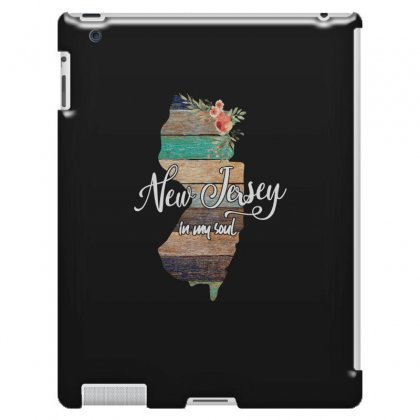 New Jersey Map For Dark Ipad 3 And 4 Case Designed By Sengul