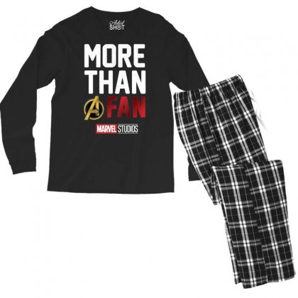 Studios More Than A Fan 2019 Graphic T Shirt Men's Long Sleeve Pajama Set Designed By Nhan