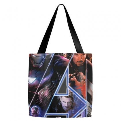 Marvel Avengers Infinity War Neon Team Graphic T Shirt Tote Bags Designed By Nhan