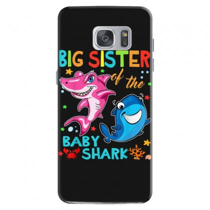 Big Sister Of The Baby Shark Samsung Galaxy S7 Case Designed By Kakashop
