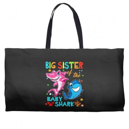 Big Sister Of The Baby Shark Weekender Totes Designed By Kakashop