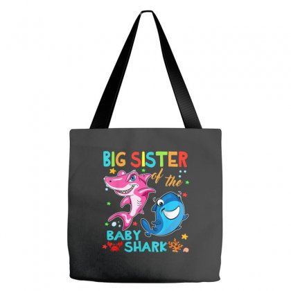 Big Sister Of The Baby Shark Tote Bags Designed By Kakashop