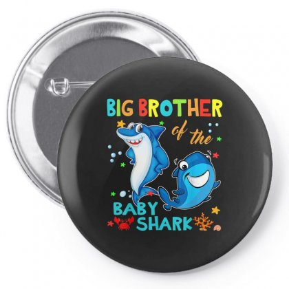 Big Brother Of The Baby Shark Pin-back Button Designed By Kakashop