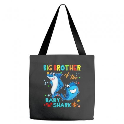 Big Brother Of The Baby Shark Tote Bags Designed By Kakashop