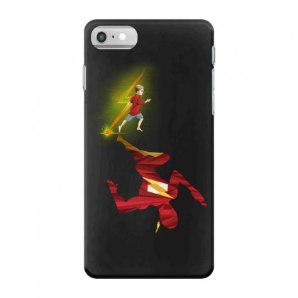Speed Kid Hero Iphone 7 Case Designed By Pinkanzee