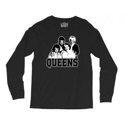 The Queens Long Sleeve Shirts Designed By Pinkanzee