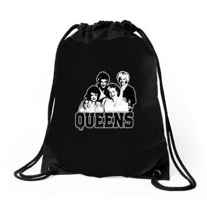 The Queens Drawstring Bags Designed By Pinkanzee