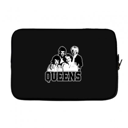 The Queens Laptop Sleeve Designed By Pinkanzee