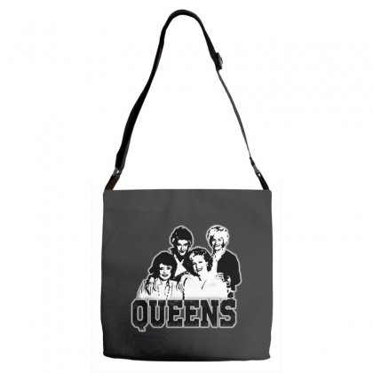 The Queens Adjustable Strap Totes Designed By Pinkanzee