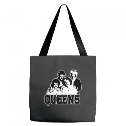 The Queens Tote Bags Designed By Pinkanzee