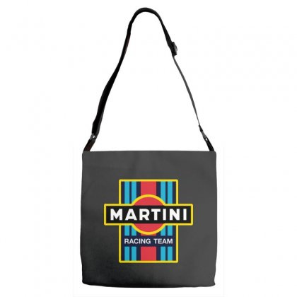 Martini Racing Team Adjustable Strap Totes Designed By Pinkanzee