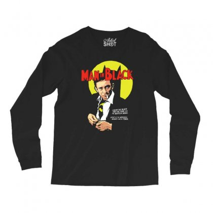 Man In Black Long Sleeve Shirts Designed By Pinkanzee
