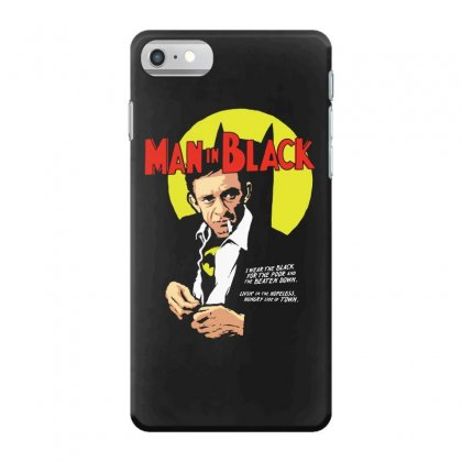Man In Black Iphone 7 Case Designed By Pinkanzee