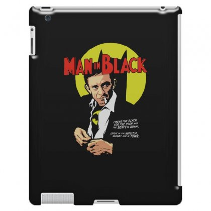 Man In Black Ipad 3 And 4 Case Designed By Pinkanzee