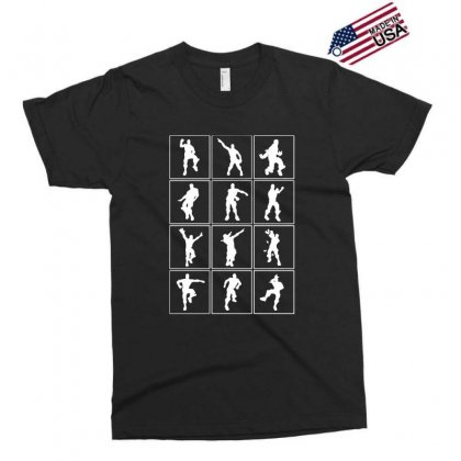 Funny Fortnite Emotes   White Exclusive T-shirt Designed By Pinkanzee