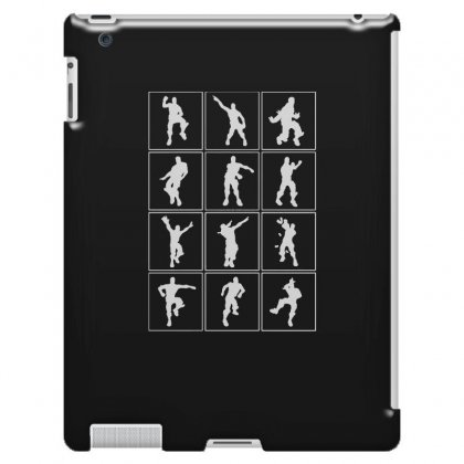 Funny Fortnite Emotes   White Ipad 3 And 4 Case Designed By Pinkanzee
