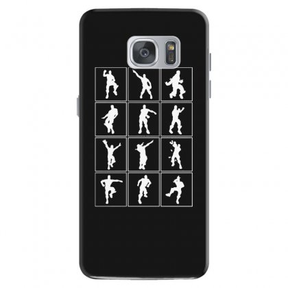 Funny Fortnite Emotes   White Samsung Galaxy S7 Case Designed By Pinkanzee