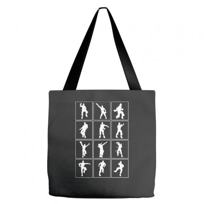 Funny Fortnite Emotes   White Tote Bags Designed By Pinkanzee