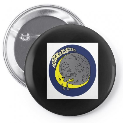 Moon Kiss Moon Pin-back Button Designed By Samantha